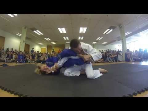 Brazilian Jiu Jitsu Demonstration at Kirby School