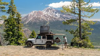 California Camping with a Vİew - Living in my Jeep