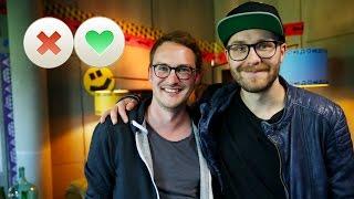 Song-Tindern mit Mark Forster - Like für Rammstein? | DASDING