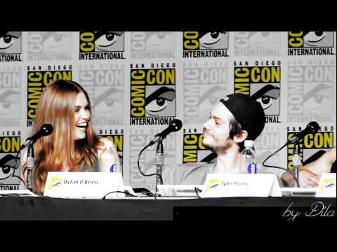 Dylan O'Brien & Holland Roden  You're so pretty