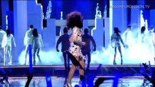 Kim-Lian van der Meij - Break The Ice - Junior Eurovision Song Contest 2012 LIVE