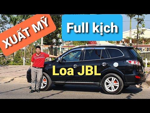 (Đã Bán) Hyundai Santa Fe SLX Bản XUẤT MỸ 2011 Loa JBL Full Kịch