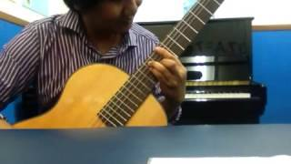 she is gone steel heart on classical guitar