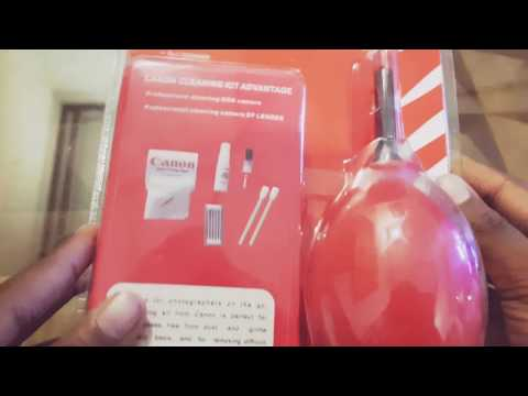 Canon Optical Cleaning KIT Unboxing and Review