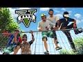 GTA V Online: Parkour INSANO e a GANGUE MITANDO! - Parkour #05