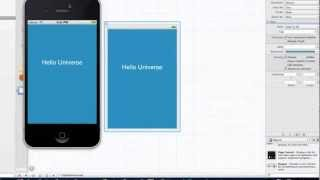 iOS Development Tutorial - 3 -  Navigating Xcode and your first app