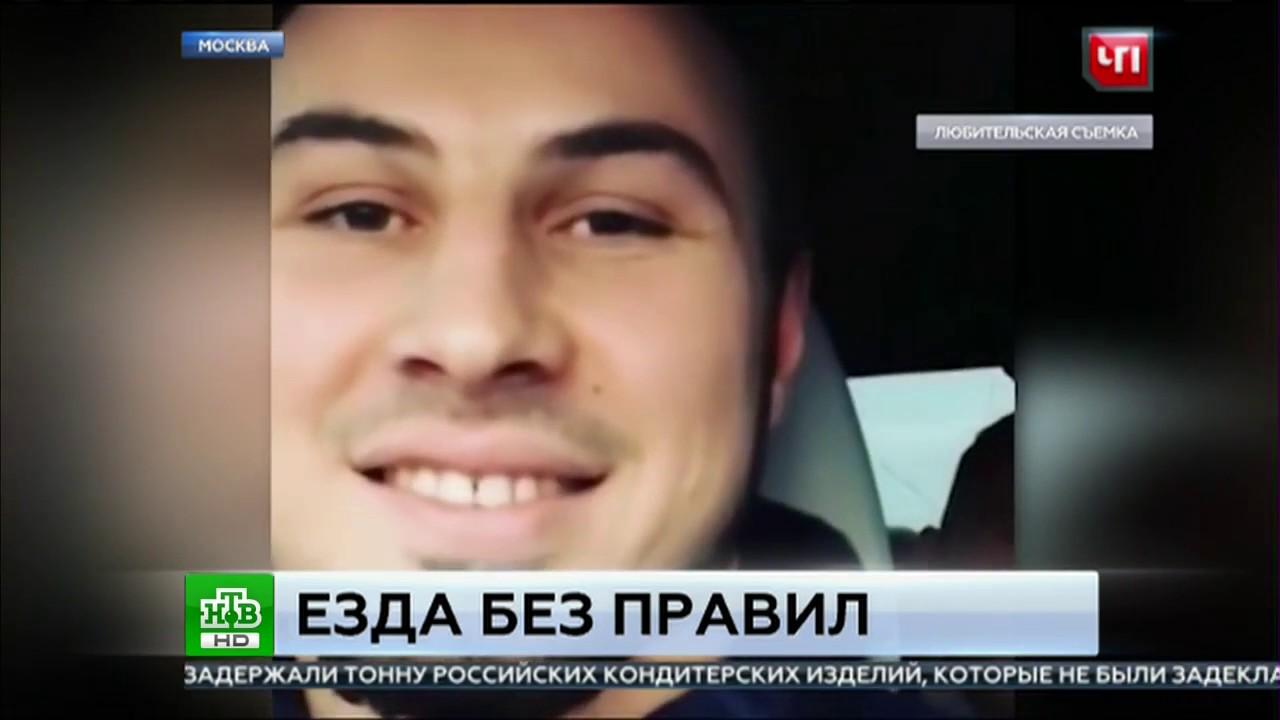 Чеченские бойцы на BMW устроили гонки по Москве