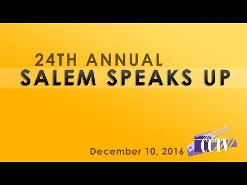 24th Annual Salem Speaks Up