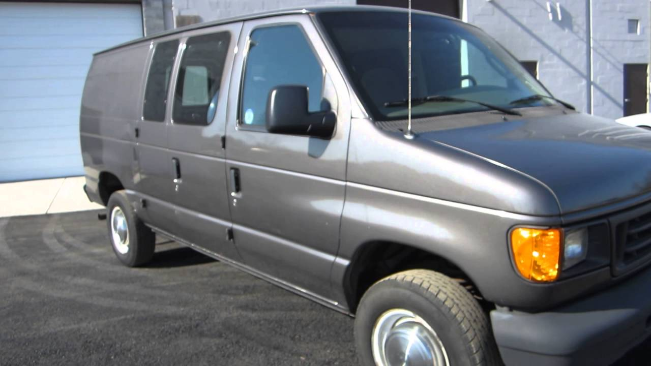 2004 Ford Econoline E250 Cargo Van    Side    Rear Glass