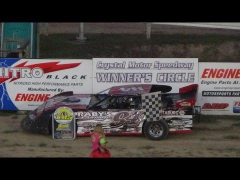 Pro Stock Heat Race #2 at Crystal Motor Speedway on 09-04-16.