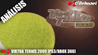 Vídeo análisis/review Virtua Tennis 2009 - PS3/X360