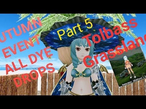 Toram Online All Autumn Event Additional Gear Dye Drops Tolbass Grassland Part 5 Youtube