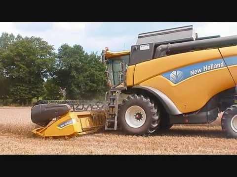 Moisson 2011 avec moissonneuse et tracteur new holland - Dessin d un tracteur ...