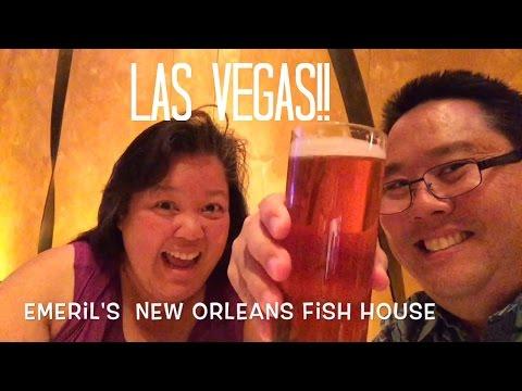 Emeril's New Orleans Fish House Las Vegas!