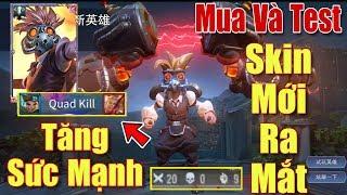 [Gcaothu] Mua và test Max Star Lord ăn ngay Quadrakill - Chính thức tăng sức mạnh