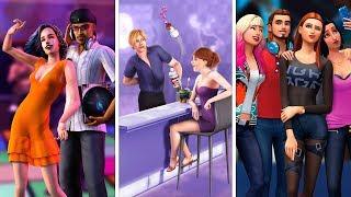 Вечеринки в The Sims | Сравнение 3 частей