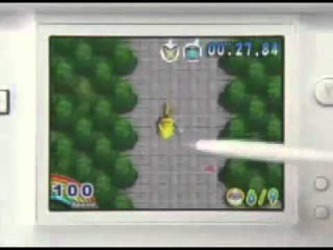 Pokemon Dash (Nintendo DS) - Trailer