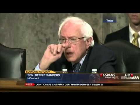 Bernie Sanders v. Ben Bernanke: Too Big to Fail (6/7/2012)