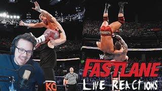 WWE FASTLANE 2018 - Live Reactions!   FREUDE und ENTTÄUSCHUNG?!   German/Deutsch   REUPLOAD!