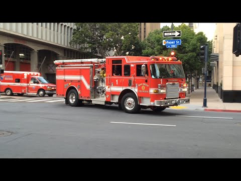 San Diego Fire Dept Engine 1 Amp Rural Metro Ambulance 1