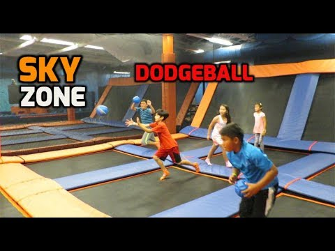 Sky Zone at Westminster Mall Part 2-Dodgeball
