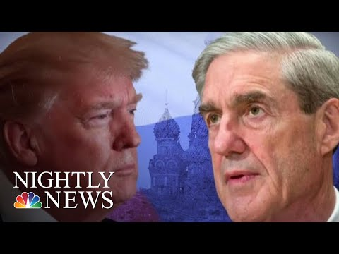 AG Nominee Says He'll Let Robert Mueller Finish Russia Investigation   NBC Nightly News