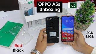 Oppo A5s Unboxing in Pakistan | 2GB/32GB | Red/Black | Urdu/Hindi