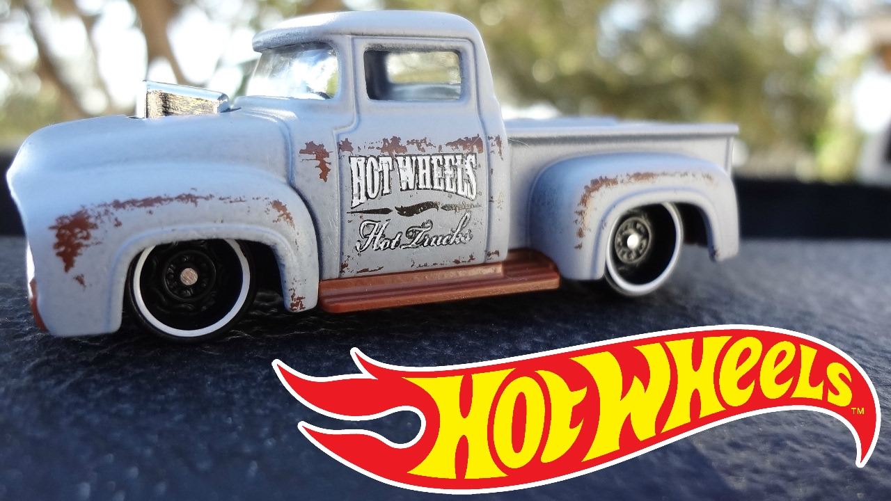 Hot wheels custom 56 ford truck