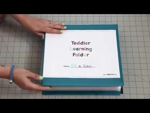 Toddler Learning Folder!