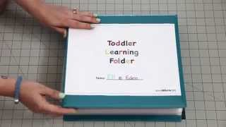 I've had some requests for a video on my Toddler Learning Folder. T...