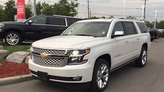 2017 Chevrolet Suburban Premier 4WD Iridescent Pearl Tricoat Roy Nichols Motors Courtice ON