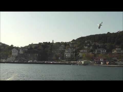 approaching Heybeliada island in the Sea of Marmara, near Istanbul, Turkey