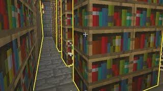 Najdziwniejsze biblioteki w grze ;-;! - Dni Z Minecraft #06