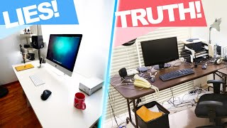 The TRUTH about YouTuber home setups!