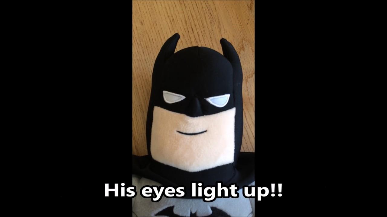 DC Comics Super Friends Interactive Power Punch Batman Soft Toy NEW