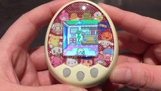 Unboxing a Tamagotchi Mix Sanrio version