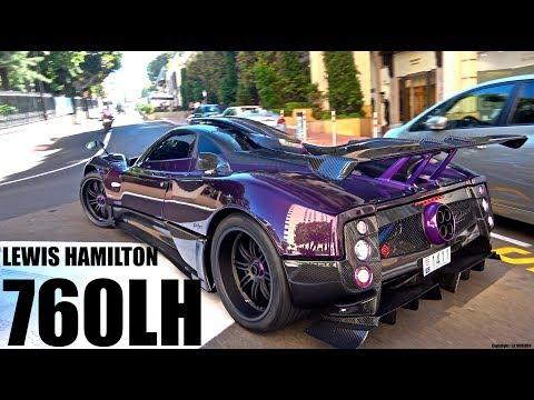 Justin Bieber & Lewis Hamilton Driving His Zonda 760 LH in Monaco! [Monaco Supercar Insanity #8]