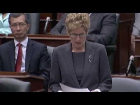 Ontario Legislature   May 30 2016