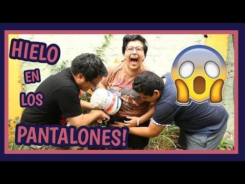 ¡¡HIELO EN LOS PANTALONES!! - Ariana Bolo Arce