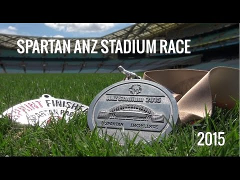 2015 Spartan ANZ Stadium Race