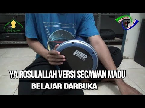 Secawan Madu | Ya Rasulallaah | Darbuka Cover Syubbanul Muslimin