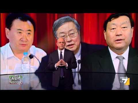 Crozza: 'L'Italia in mano ai cinesi. Moriremo comunisti.. cinesi'