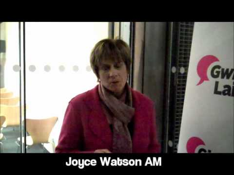 Joyce Watson AM Gives Voice.wmv
