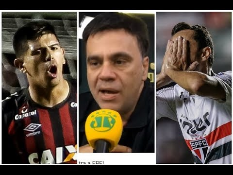 OLHA o que Mauro Beting achou de São Paulo 2 x 2 Atlético-PR!