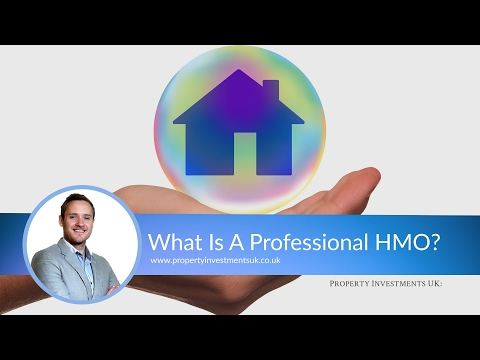 What Are Professional HMOs? (Houses In Multiple Occupation)