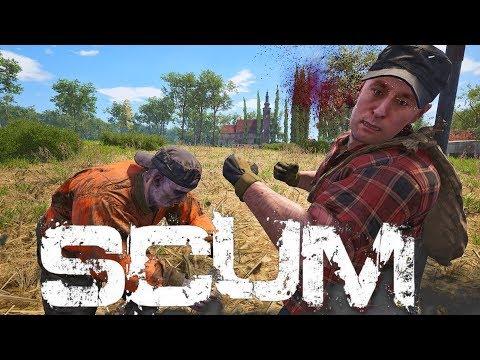 SCUM ★ 5 Mann Co-op ★ Live #03 ★ Multiplayer Gameplay Deutsch German