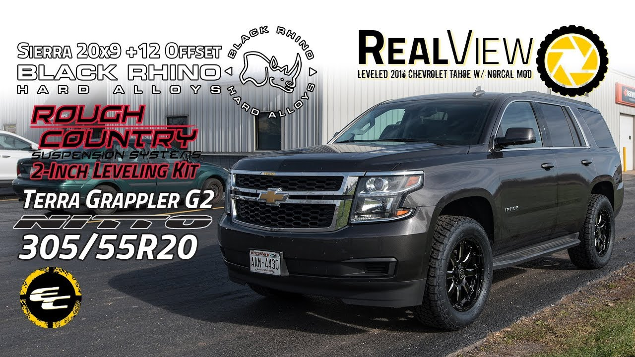 RealView - Leveled 2016 Chevy Tahoe w/ NorCal Mod, 20x9 ...