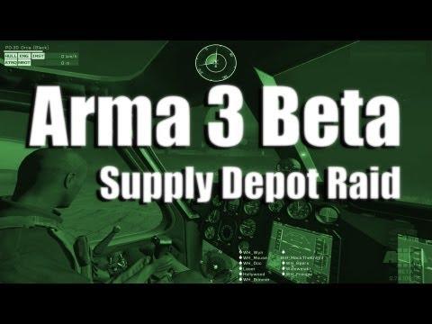 Arma 3 Multiplayer - Supply Depot Raid
