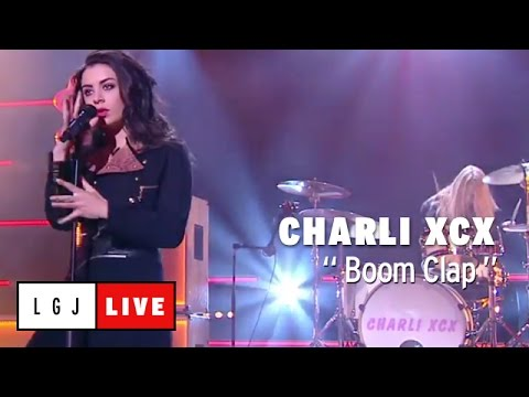 Charli XCX - Boom Clap - Live du Grand Journal