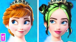 Disney Characters As Celebrities